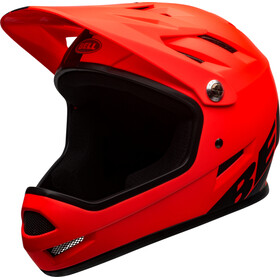 Bell Sanction Casque, matte orange/black